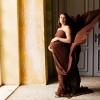 Фотосессия беременных в студии.